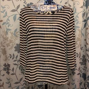 Striped Blouse 👚 MEDIUM NWT